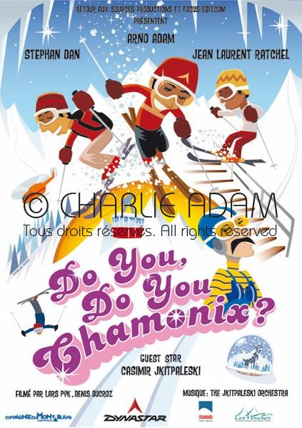 Affiche Do you Do you Chamonix ?
