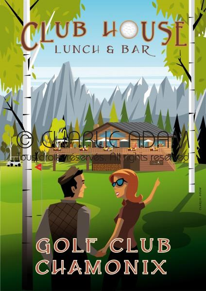 Chamonix Golf Club House restaurant